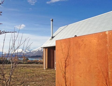 Charlie Nott Architects Tekapo Tractor Shed