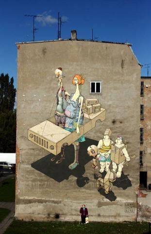 Chaze sepe poland street art